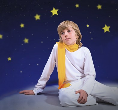 Ian Pedersen as The Little Prince (Photo: Valentin Radev, graphic design: Lukasz Pinkowski)